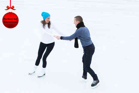Absolutely Ice - Ice skating including skate hire for one - Save 29%
