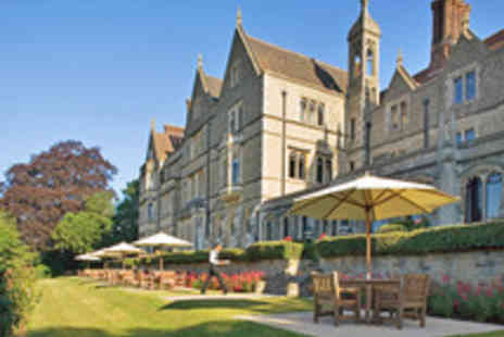 Nutfield Priory Hotel - Surrey Spa Day with Treatment and Choice of Champagne Afternoon Tea or Champagne Elevenses - Save 43%