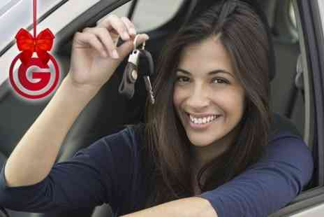 GDT - Three Hours of Driving Lessons - Save 74%