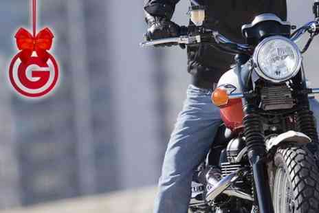 Dorset Advanced Motorcycle Training -  One Day Course  - Save 53%