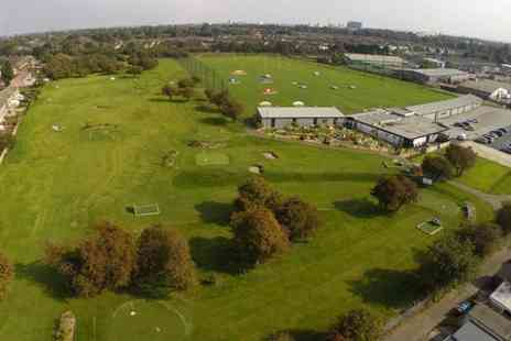 Footgolf Yorkshire & Pirate Adventure Golf - 18 Holes of Foot golf For Two  - Save 50%