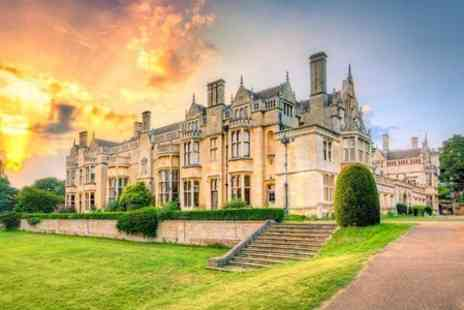 Rushton Hall - Two  Nights  stay With Triple AA-Rosette Dinner & Champagne  - Save 38%