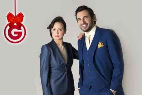 Apsley Tailors - Hand Stitched Suit and Tie - Save 60%