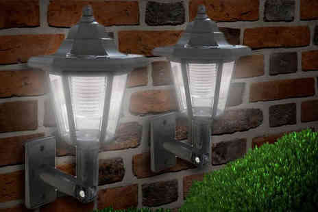 AKJ Enterpises  - Solar Wall Lanterns - Save 0%