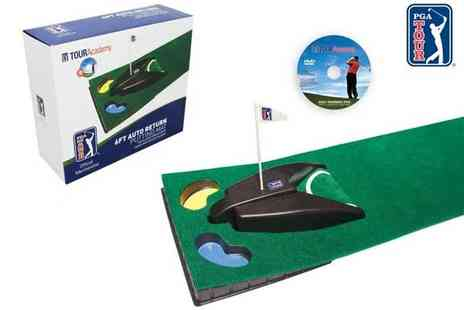 Second Chance -  6fit Auto Return Putting Mat & DVD - Save 43%