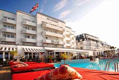 The Cumberland - Overnight Art Deco Bournemouth Hotel Stay with Dinner  - Save 59%