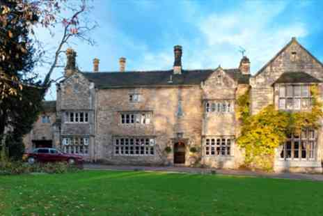 Monk Fryston Hall Hotel -  Yorkshire Delightful 16th Century Getaway with Dinner - Save 51%