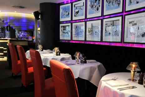 London Clubs Nottingham -  Steak & Champagne for Two - Save 48%