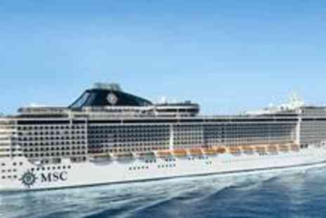 MSC Cruises - Seven night with Inside Cabin, full board Mediterranean cruise aboard with return flights - Save 66%