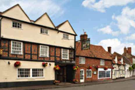 White Hart Hotel - Gourmet Break for Two  in a Picturesque Oxfordshire Village - Save 41%
