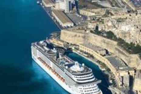MSC Cruises - Seven night with Balcony Cabin, full board Mediterranean cruise aboard with return flights - Save 65%
