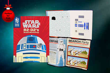 Iqbooks -  Make Your Own R2 D2 Droid Workshop activity book - Save 60%