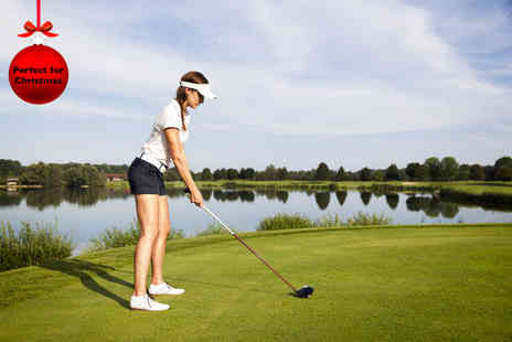 Hunter Knight Golf Coaching - 30 minute golf lesson for up to two  - Save 52%