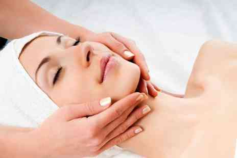 The Salon - 75 min deluxe facial & lymphatic drainage facial massage  - Save 65%