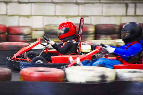 Indoor Super Karting - 30 Lap Indoor Go Karting Experience for One  - Save 60%