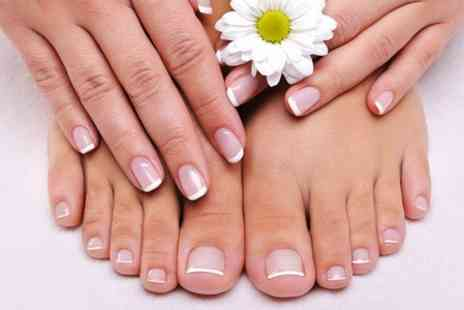 Mi Vida - Deluxe Manicure Deluxe Pedicure or Both - Save 70%