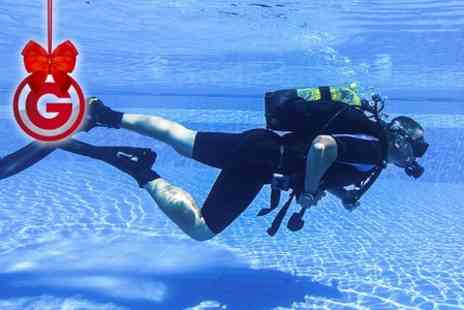 Robin Hood Watersports - PADI Discover Scuba Diving Experience  or Referral Course With Log Book - Save 0%