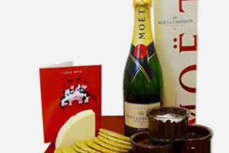 Flavours of Galloway - Champagne Hamper with Moet & Chandon Champagne - Save 63%