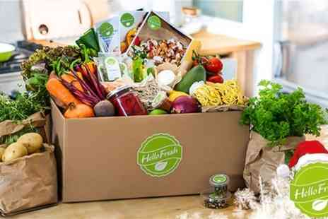Hello Fresh - Hello Fresh Winter Meal Delivery Subscription First Box - Save 67%