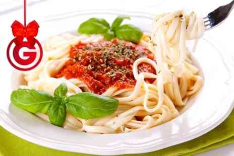 Cibo Fasta Pasta - Pasta Takeaway Meal With Bread and Soft Drink - Save 0%