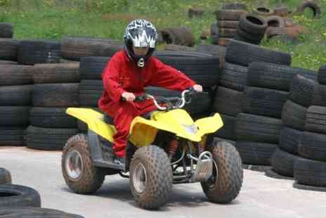 Hamburger Hill paintball - Childrens Quad Bike Experience - Save 45%
