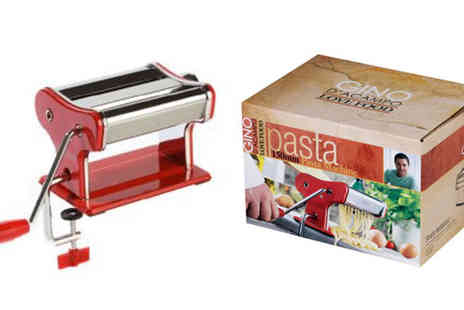 eCom Group - Gino D'Acampo Pasta Maker Machine - Save 0%