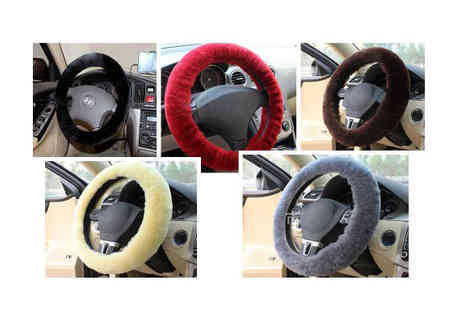 Snow Paw Boots Jepuson - Sheepskin Steering Wheel Cover - Save 60%
