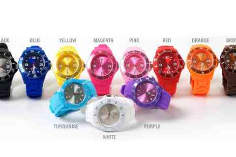 Online Gifts - Unisex Colour Fashion Watch - Save 0%