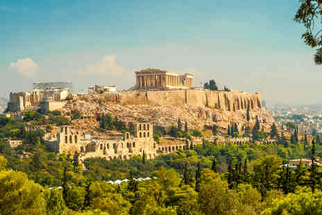 Major Cruise - Three Night Athens Break with Flights & BreakFast - Save 52%