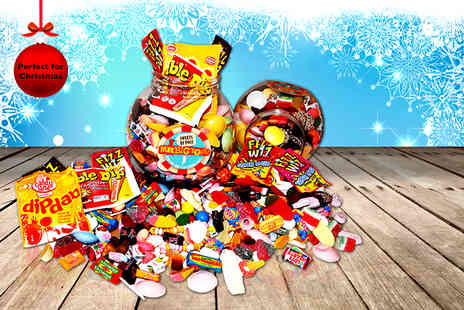 Mr Big Tops -  1.7kg mega jumbo retro sweetie jar - Save 40%