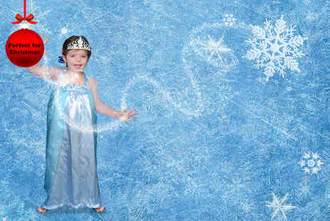 Urban Makeovers - Frozen inspired princess photoshoot & print from Urban Makeovers for up to Two - Save 92%