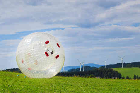 Thunderballz - One hour zorbing experience for one - Save 60%