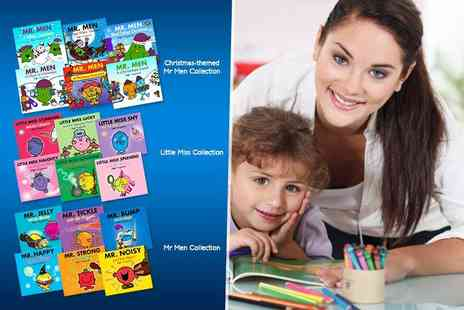 Iqbooks - Six Mr Men or Little Miss books - Save 61%