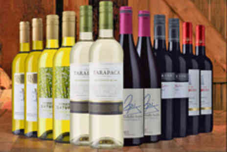 The Sunday Times Wine Club - 12 Bottle Case of Red, White or Mixed Wines  - Save 53%