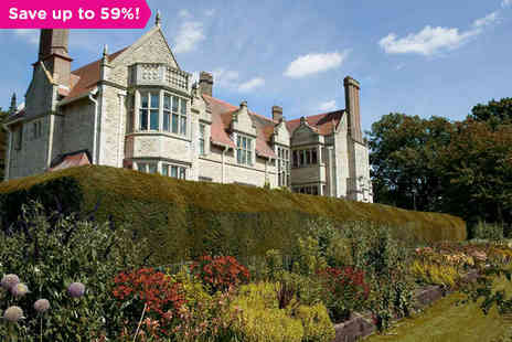 Barnsdale Hall Hotel - One night Picturesque Country Break in Charming Rutland County - Save 59%