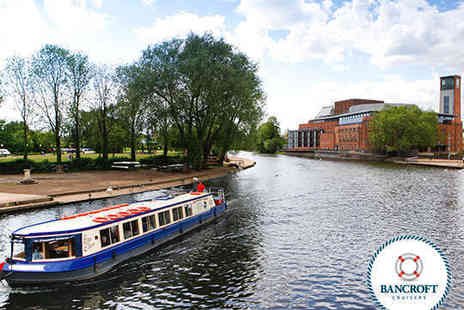 Bancroft Cruisers - Festive River Avon Cruise for Two Adults and Two Children with Mince Pie and Glass of Mulled Wine  - Save 48%