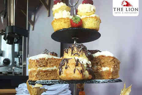 The Lion Hotel - Afternoon Tea with a Glass of Prosecco Each for Two  - Save 54%