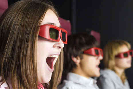 6D Cinema - 6D Cinema Tickets for Sleigh Ride for Two  - Save 43%