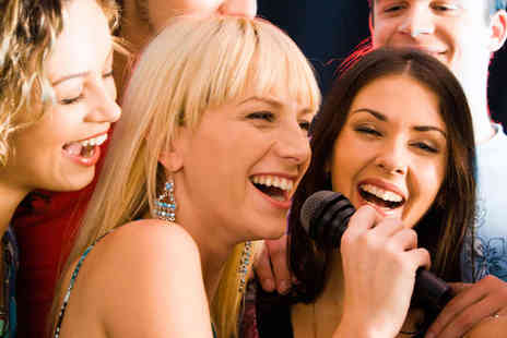 Mix Karaoke - Karaoke Booth Hire for up to Ten with Bubbly and Sharing Platter - Save 91%