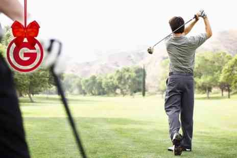Slaley Hall Spa - Private Golf Lesson With PGA Coach  - Save 67%