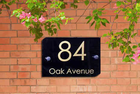 Kaydor Signs - Personalised House Sign  - Save 55%