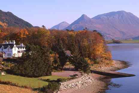 Loch Leven Hotel - One night Stay with breakfast and a late check out  - Save 40%