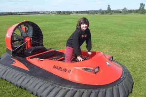 Hover Limits - Hovercraft driving experience for 10 laps - Save 0%