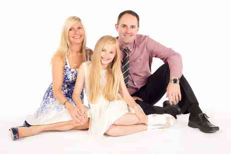 Paul Haynes Photography - Family photoshoot for up to 12  including three prints and refreshments - Save 80%