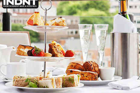 Independent Bar and Kitchen - Afternoon Tea with a Bottle of Prosecco to Share for Two - Save 55%