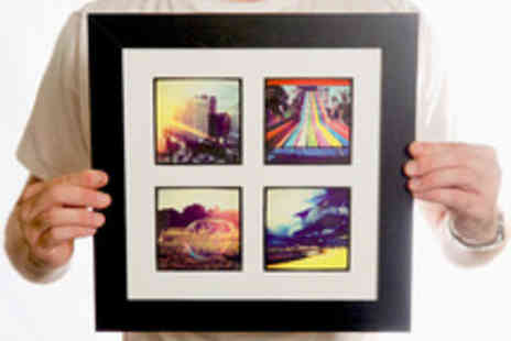 Instajunction - Personalised and Framed Photo Prints - Save 46%