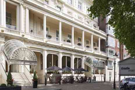 Thistle Hyde Park Hotel - One night  Stay For Two With Breakfast and Prosecco - Save 0%