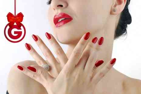 Authentic Locks - Gelish Manicure Pedicure or Both  - Save 50%