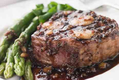 The Queens Head - Steak and Wine For Two - Save 0%