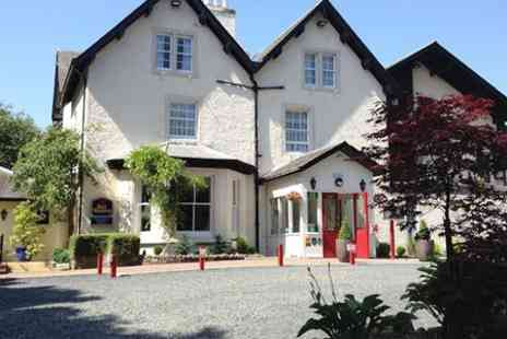 Philipburn Country House Hotel - Scottish Borders Stay For Two With Prosecco from Plus Dinner  - Save 59%